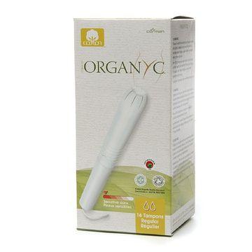 Tampón Regular de algodón orgánico (16 unidades) Organyc