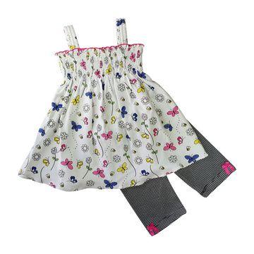 Vestido y Patitas Primavera algodón pima peruano Galgal