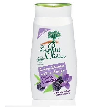 Crema de ducha Blackberries (250 ml) Le Petit Olivier