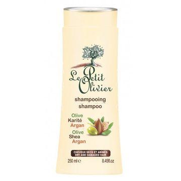 Shampoo cabello seco Argán, Karité y Oliva (250 ml) Le Petit Oliver