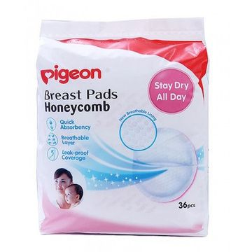 Absorbentes de leche (36 Un) Honeycomb Pigeon