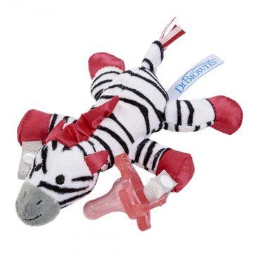 Portachupete y mordedor Lovey Zoey la Zebra Dr. Brown's