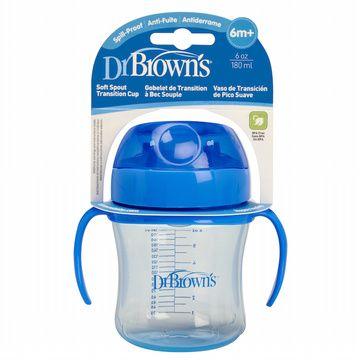 Vaso Antiderrame Boquilla suave (180 ml) Azul Dr. Brown's