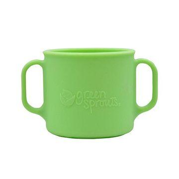 Vaso de Silicona con Asas (Verde) Green Sprouts