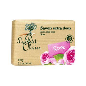 Jabón Extra Suave Rosa (100 gr.) Le Petit Olivier