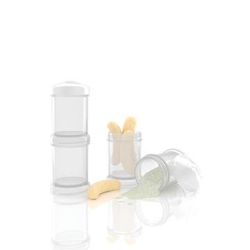 Contenedores 100 ml Blancos Twistshake