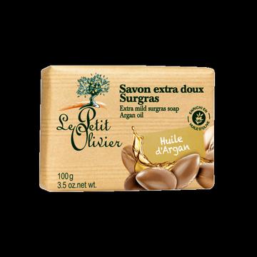 Jabón Extra Suave de Argán (100gr.) Le Petit Olivier