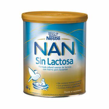 Nan Sin Lactosa (400 grs.) Nestlé