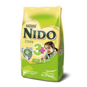 Nido 3+ (800 grs.) Softpack Nestlé