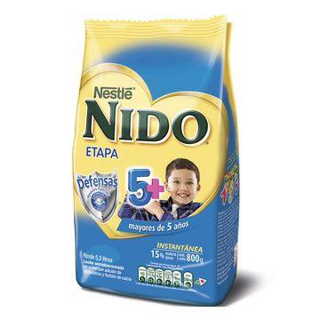 Nido 5 + (800 grs.) Softpack Nestlé