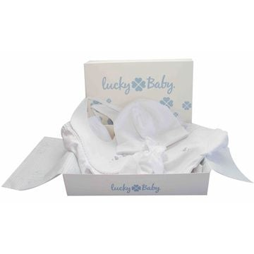 Ajuar Bordado a Mano (5 Piezas) Lucky Baby