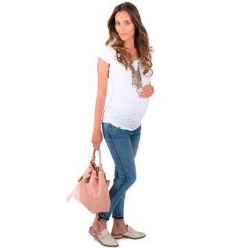 Jeans Maternal Cropped Madremía