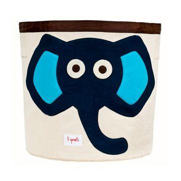 Canasto para juguetes Elefante Azul 3 Sprouts