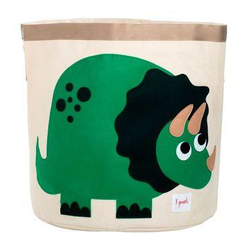 Canasto para juguetes Dinosaurio Verde 3 Sprouts