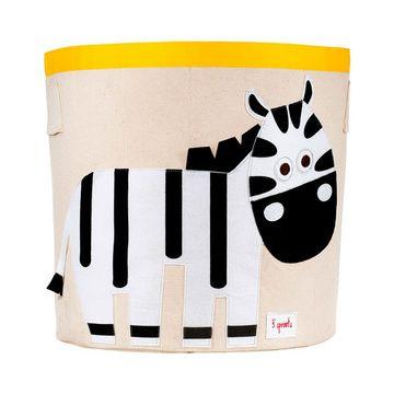 Canasto para juguetes Zebra 3 Sprouts