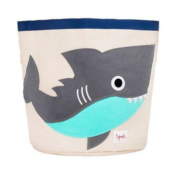 Canasto para juguetes Tiburón Gris 3 Sprouts