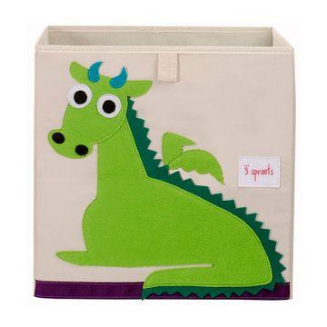 Caja para juguetes Dragón Verde 3 Sprouts