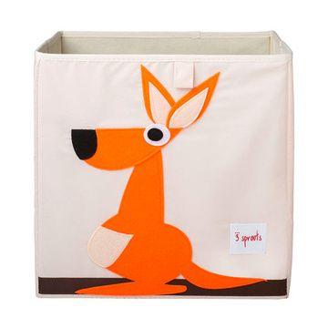 Caja para juguetes Canguro Naranjo 3 Sprouts
