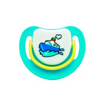 Chupete Silicona Etapa 3 (8 meses o más) Azul Barco Pigeon