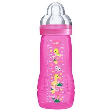 Mamadera Easy Active (330 ml) Rosada Mam