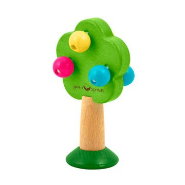 Sonajero de Madera Arbol Multicolor Green Sprouts