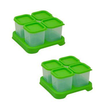 Envases Comida 120 ml (8 u) Verde Green Sprouts