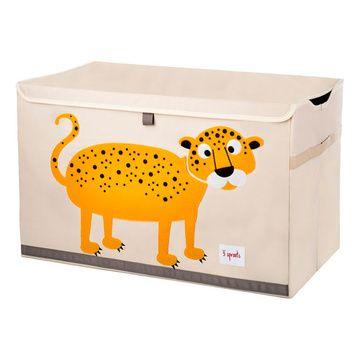 Baúl de juguetes Leopardo 3 Sprouts