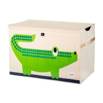 Baúl de juguetes Cocodrilo verde 3 Sprouts
