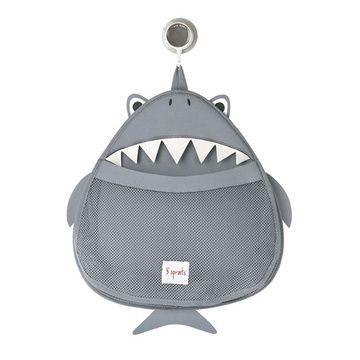 Organizador de baño Tiburón gris 3 Sprouts