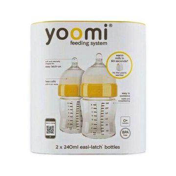Mamadera Yoomi 240 ml. (2 unidades)