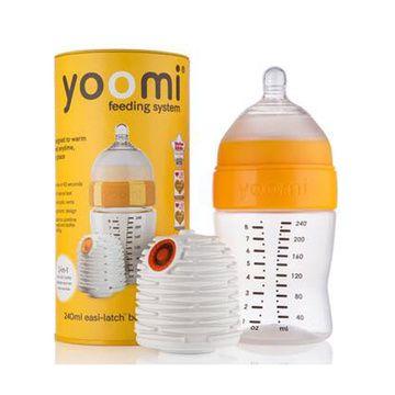 Set Mamadera Yoomi (240 ml.) + Calentador