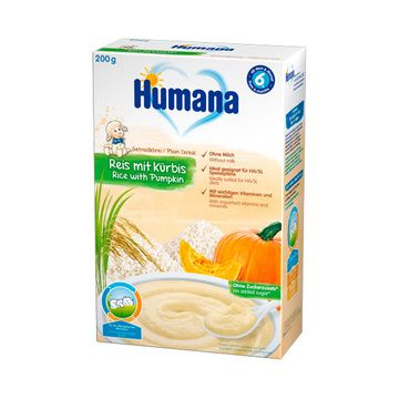 Cereal HA (Arroz Zapallo) Humana