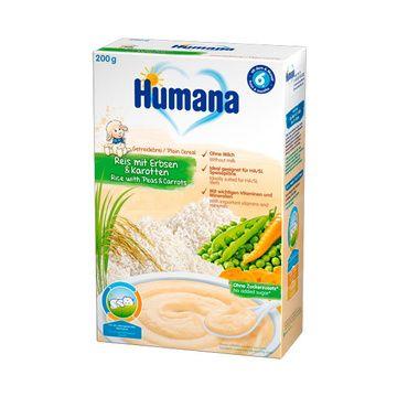 Cereal HA (Arroz Zanahoria Arveja) Humana