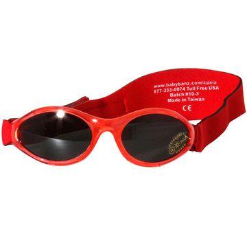 Anteojos de sol UV niños Adventure (Rojo) Kidz Banz