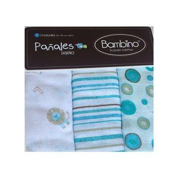 Pañales (3 u) Colors Niño Bambino