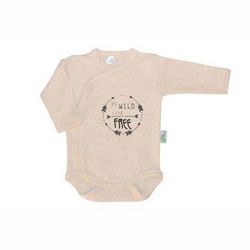 Body algodón pima orgánico (Natural - Be Wild) Gea Organika