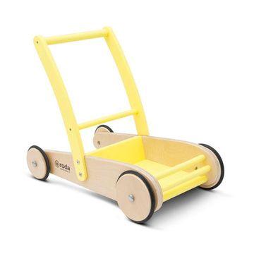 Carrito andador (Amarillo) Roda