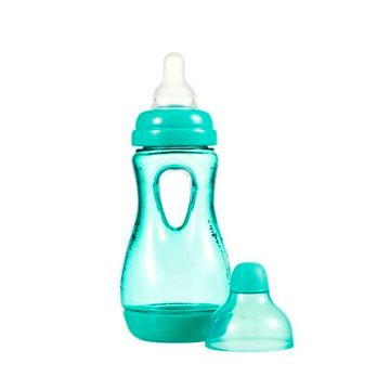 Mamadera Agarra Fácil (170 ml) Ergonómica Anticólico Aqua Difrax