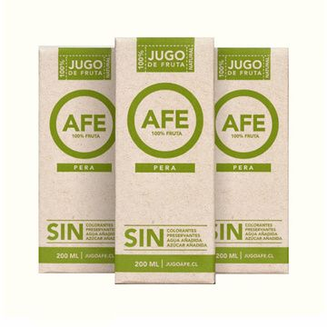 Jugo Pera Tetra (24 x 200 ml) Afe