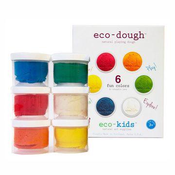 Plasticina natural (6 colores) Eco-kids