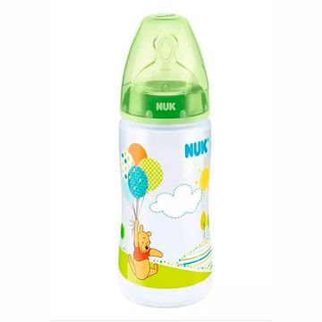 Mamadera First Choice 300 ml. (Winnie the Pooh Verde) Nuk