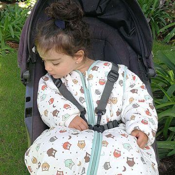 Saquito Paseo Tog 2,5 (18 a 36 meses) Travel Owl Slumbersac