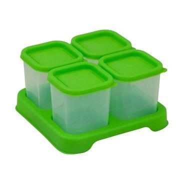 Envases Comida 120 ml (4 u) Verde Green Sprouts