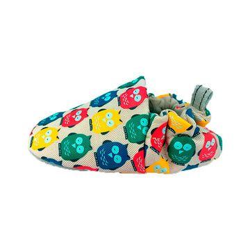 Zapatos Mini Shoes Búhos Arcoíris Poco Nido