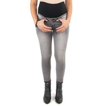 Jeans maternal Pitillo (Gris) Madremía