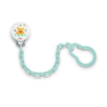 Clip cadena para chupete Winnie the Pooh (Verde) Nuk
