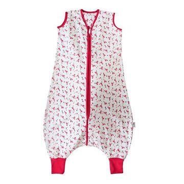 Saquito Dormir Tog 0,5 (12 a 18 meses) Muselina Feet Flamingo Slumbersac