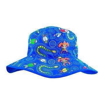 Gorro protección Bebé UV 50+ (Azul Coolgardie) Baby Banz