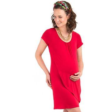 Vestido Maternal Lupe (Rojo) Madremía