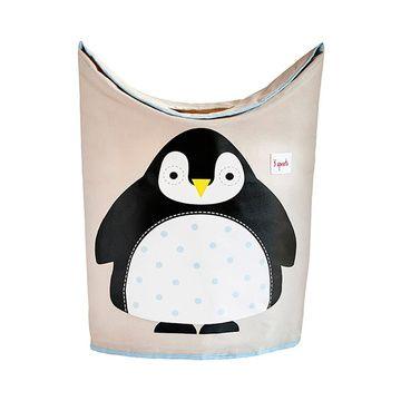 Contenedor Ropa Sucia Pinguino 3 Sprouts
